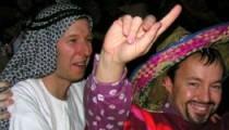 Polonäse bei der Kilometerschlucker-Party im Finanzministerium in Bonn